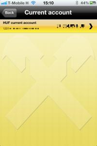 Raiffeisen mobile banking app