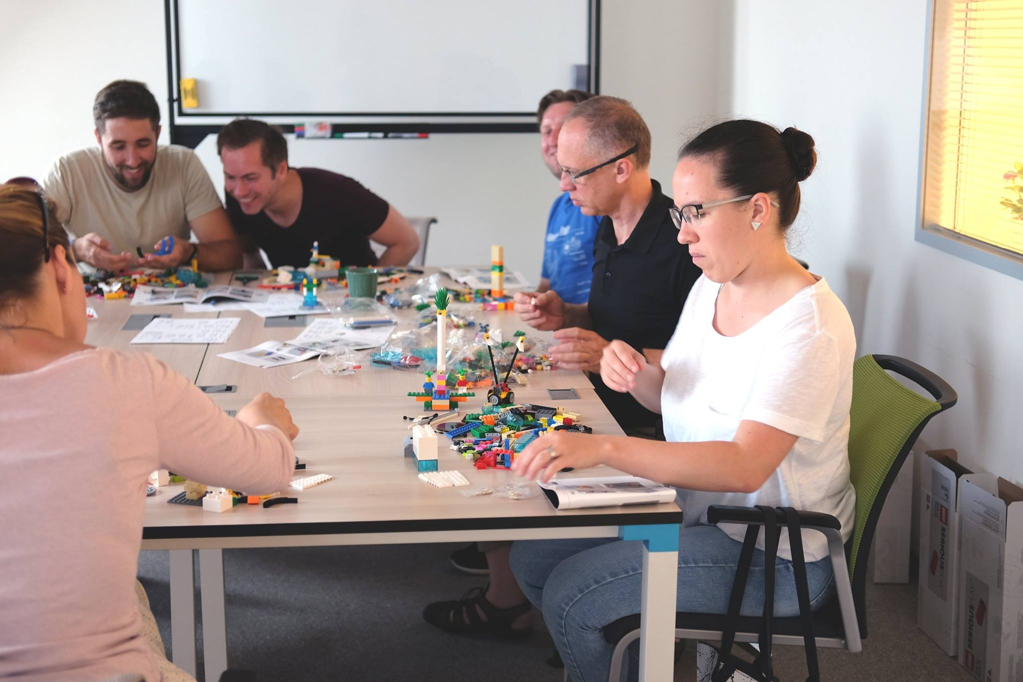 Lego serious play workshop at Ergománia